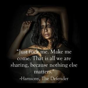 Harmony Fuck Me